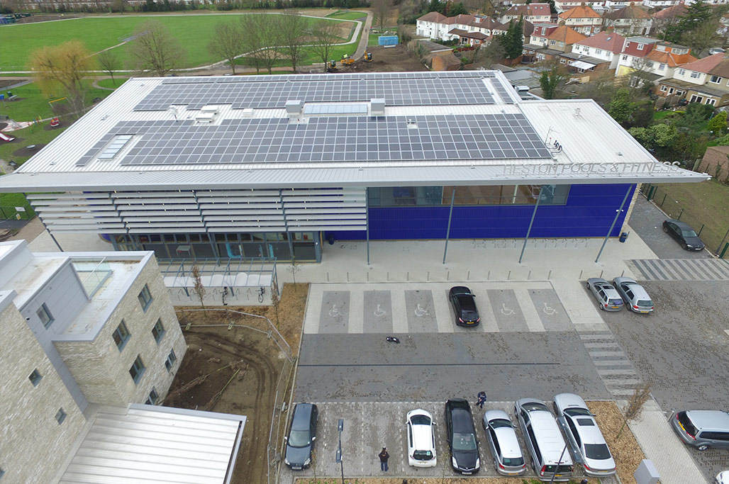 Heston Leisure Centre Roofing Amp Cladding Kovara