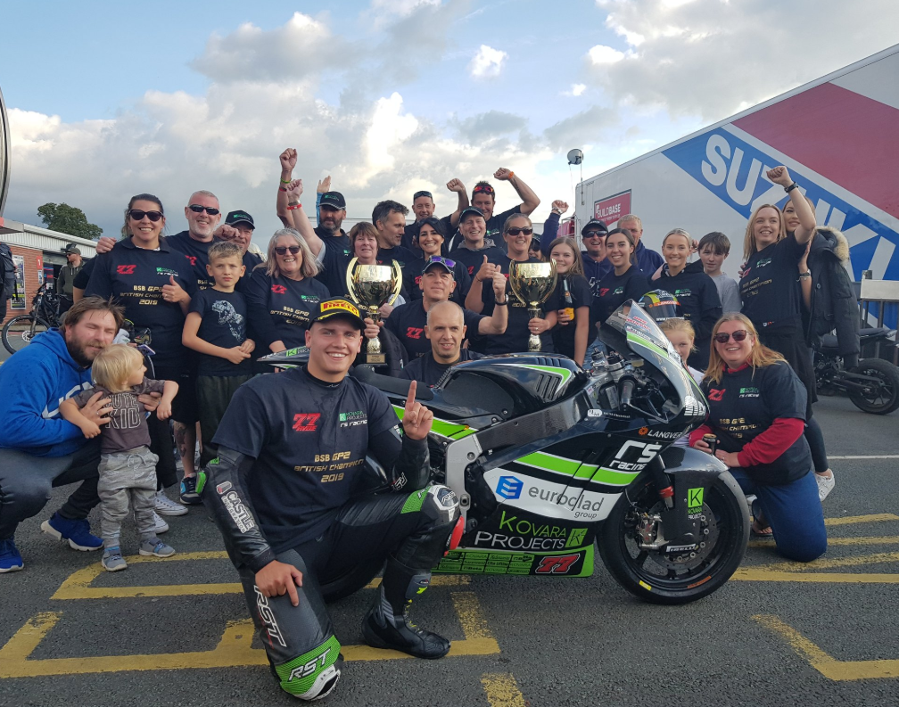 2019 Dickies British Supersport GP2 Champions