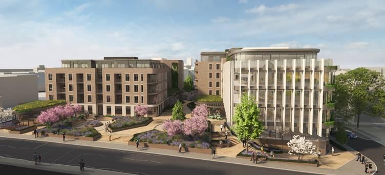 Kovara Awarded Cladding Package on St Albans Urban Regeneration Plan